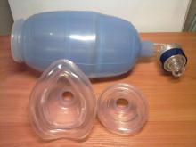 Аппарат ИВЛ с  ручным приводом (мешок Амбу) с 2-мя масками