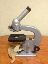 Микроскоп биологический дорожный МБД-1, Д-11, Д-12